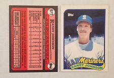 RANDY JOHNSON 1989 TOPPS TRADED RC ROOKIE CARD # 57T MINT