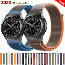 Sport Nylon Strap Woven Loop Band For Samsung Watch 42mm 46mm Active 2 40mm 44mm