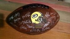 2017 Green Bay Packers Team Signed Facsimile Autographed Football