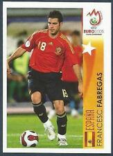 PANINI EURO 2008- #504-ESPANA-SPAIN & ARSENAL-CESC FABREGAS IN ACTION