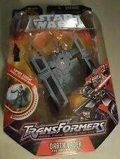 2005 Star Wars Transformers Darth Vader Tie Advanced Fighter by HasbroSUPER