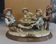 Vintage Giuseppe Armani The Cheaters repaired Statue Figurine #280C Italy