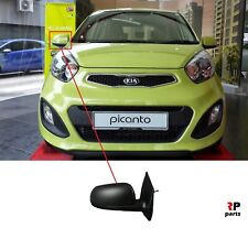 NEW KIA PICANTO 11-17 MANUAL DOOR WING MIRROR PRIMED RIGHT DRIVER SIDE LHD ONLY