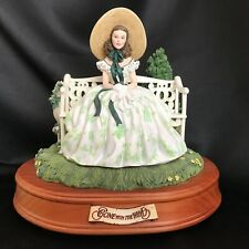 "Vintage 1999-Gone With The Wind San Francisco Music Box~ ""Scarlett On Bench"""