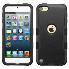 for Apple 5th 6th Generation Natural Black Tuff Hybrid Case Cover