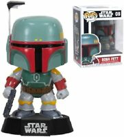 "Funko Pop Star Wars BOBA FETT Bounty Hunter Vinyl Figure w/ Protector ""MINT"""