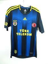Fenerbahce 2012 Jersey Shirt Turkey Adidas Striped Soccer Football Men's Small