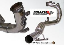 "VW Golf MK5 GT 2.0 TDI 170PS Milltek Sport 2.75"" bajante DPF Tubo de optimización"
