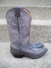 Nocona Gray Leather Cowboy Western Rancher Riding Cowgirl Women's Boots Size 6 B