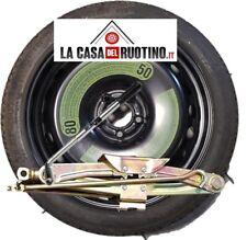 """Ruotino di Scorta  FIAT 500X  17"""" ORIGINALE CON CRIC+CHIAVE"""
