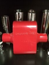 CHERRY BOMB 7428cb EXTREME RED PERFORMANCE RACE MUFFLER