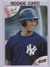 DEREK JETER ROOKIE CARD Action Packed Minor League TAMPA YANKEES Baseball RC