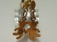 DOUX OURS Boucles d'oreilles 333 ER OR Boucles d'oreilles bijou en or