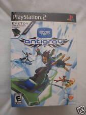 EyeToy Antigrav (PlayStation PS2) Game + Camera Brand New, Sealed!