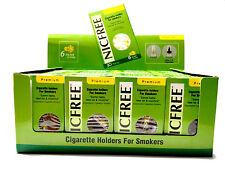 NICFREE Disposable Cigarette Filters! Less Tar & Nicotine Same Taste - 20 Pack!