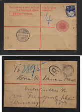 New  South  Wales  nice registered envelope to Germany   1903     HC0406