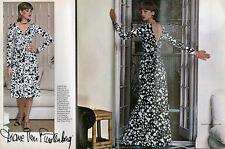 VINTAGE Années 70 VOGUE 1548 Diane von Furstenberg sewing pattern comme porté par les célébrités