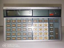 Vintage TEXAS INSTRUMENTS TI-66 Programmable Calculator