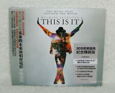 Michael Jackson Jackson's This Is It Taiwan 2-CD +36P