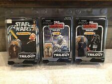 Star Wars VOTC OTC Saga Jedi Yoda Ben (Obi-Wan) Kenobi & Sith Darth Vader Lot