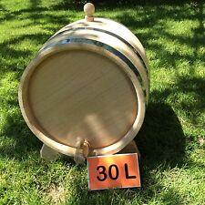 30L Oak barrel, wood cask, whiskey barrel, wooden barrels