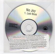 (FC177) No Joy, Last Boss - DJ CD