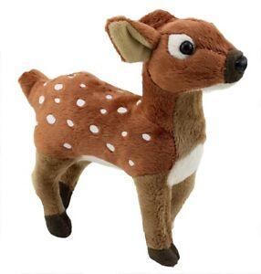 1 X PLUSH DEER 23CM santa teddy ruldolph soft reindeer stuffed animal christmas