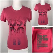 Nike Lot Of 2 Womens Small Top Shirt Just Do It Spell Out Dri Fit EUC