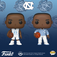 North Carolina Michael Jordan 2 Pop Set Funko Pop Vinyls New in Boxes + P/P