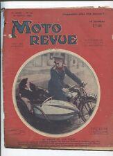 Moto Revue N°516  ;  28  janvier 1933 :  technique d'amélioration de la vitesse