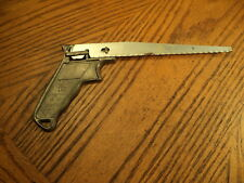 """Vintage Allway Handy Saw Tool No. 100  9"""" Long   Blade Mounts in 4 Positions USA"""