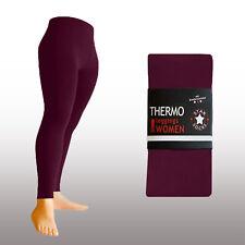 Thermo-Legging warm blickdicht Modefarben schwarz 38 40 42 44 46 48 S-XXL TOP…..