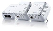 Devolo dLAN 500 WiFi Network Kit Extension Set WLAN 500 Mbit/s Powerline wie NEU