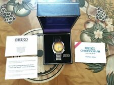 SEIKO Automatic 6139-6005 Yellow Dial  (Pogue)With Box and Papers.