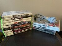 13 games lot Wii XBOX 360 Xbox PS3 Wii Av Tested Working Most Complete