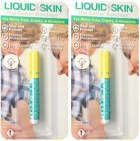 2 Pk Liquid Skin Bandage Band-aid Seal & Protect Cuts for minor cuts,Waterproof