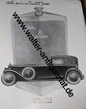 Établissements Ballot Automobile XXL-Werbeanzeige anno 1928 Reklame advertising