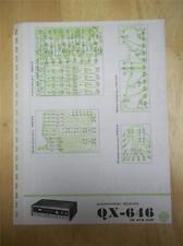 Pioneer Schematic Diagram for Service of the QX-646 Receiver~manual