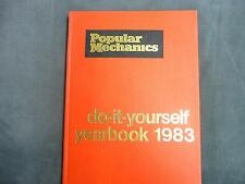 Popular Mechanic Do It Yourself Yearbook 1983 book DIY home improvement reading