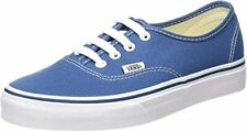 VANS VEE3NVY Unisex Navy Synthetic Lace Up Canvas Casual Sneakers US 10.5 B (M)