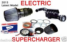 Electric Turbo Cold Air Intake Power Supercharger Fan Kit Nismo-Style For Nissan