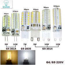 G9 G4 LED Corn Bulb 7W 9W 10W 12W SMD2835 3014 Bulb Crystal Silicone Candle 110V