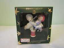 Dept. 56 Snowbabies Ornament Dance With My Raggedy Ann & Andy 69985 NIB