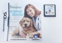 Animal Doctor Veterinarian Game Imagine (Nintendo DS Game) Tested Guaranteed