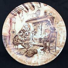 Assiette plate de collection Céramique Castelroux, REC. Neuve