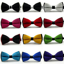 Formal Tuxedo Mens Classic Adjustable Bowtie Wedding Party Necktie Bow Tie
