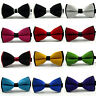 Mens Adjustable Bowtie Tuxedo Bow Tie Necktie For Wedding Formal Party