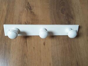 IKEA  WHITE WOODEN  WALL HANGER