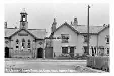 pt1886 - Church School , Owston Ferry , Lincolnshire - photograph 6x4