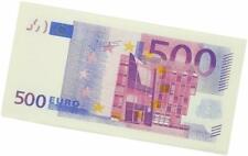 Paquet de 10 Mouchoir en Papier de Billet 500 Euros Serviette de Table